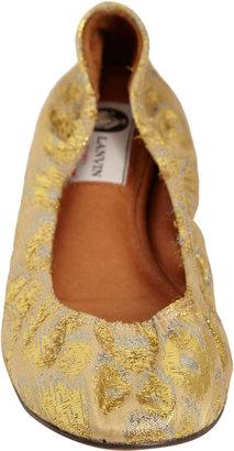 Lanvin Brocade Ballerina Flats