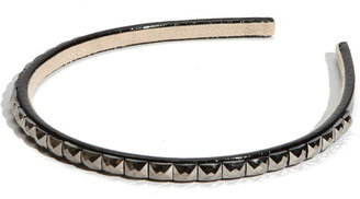 Tasha 'Punky Monkey' Embossed Leather Headband