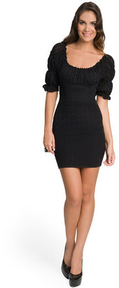 Catherine Malandrino Body Hugging Knit Dress