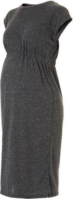 Topshop Maternity Elastic Waist Midi Dress
