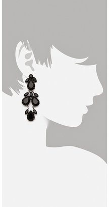 Juliet & Company Plume Noir Earrings