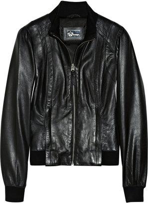 Mackage Mindy leather bomber jacket