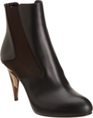 Fendi Wuthering Heights Platform Ankle Boot