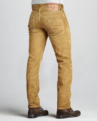 True Religion Geno Vintage Spice Cold-Press Jeans