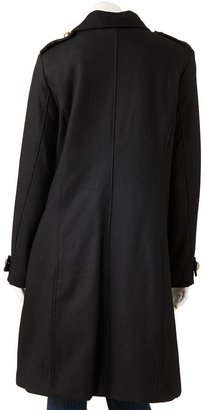 Excelled wool-blend coat - women's