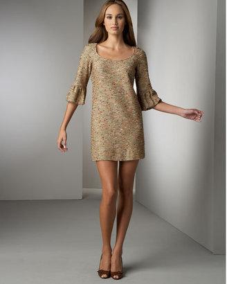 Diane von Furstenberg Diane vonFurstenberg Lantern-Sleeve Boucle Dress
