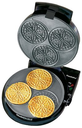Chef's Choice pizzellepro ® express bake TM pizzelle maker