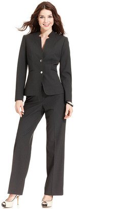 Tahari by Arthur S. Levine Tahari by ASL Suit, Pinstriped Blazer & Pants