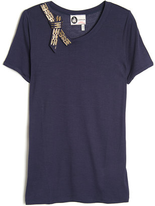 Lanvin Crystal Bow Top
