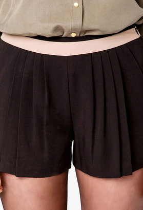 Forever 21 LOVE 21 Colorblocked Waist Shorts