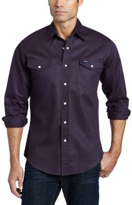 Wrangler Men's Big and Tall Authentic Cowboy Cut Work Western Shirt
