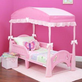 Delta Children Children's Girls for Toddler Bed Canopy Color: Pink