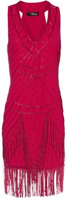 Jane Norman Women's Bead flapper dress