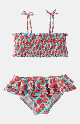Mini Boden Two Piece Swimsuit (Little Girls & Big Girls)