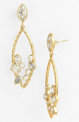 Melinda Maria 'Beatrice' Open Drop Earrings