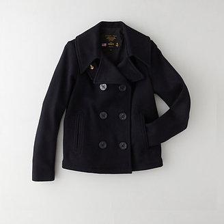 Steven Alan FIDELITY SPORTSWEAR cropped pea coat
