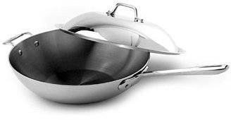"All-Clad Stainless Steel 12"" Covered Chef Pan"