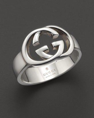Gucci Sterling Silver Britt Ring