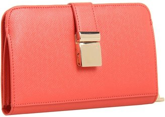 Ivanka Trump Ashleigh Passport Wallet (Coral) - Bags and Luggage