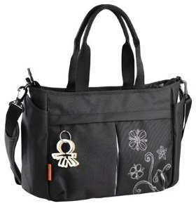 Okiedog Twinkle Metro Messenger Bag - Black