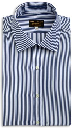 Emma Willis Navy Bengal Stripe Shirt