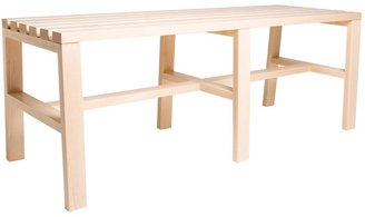 Staach Cain Slatted Bench 2