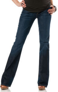A Pea in the Pod Citizens of Humanity Dita Petite Secret Fit Belly® 5 Pocket Boot Cut Maternity Jeans