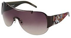 Ed Hardy Japan (Gunmetal/Burgundy Gradient Polarized Lens) - Eyewear