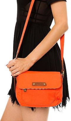 Volcom The Date Night Crossbody Bag in Electric Orange