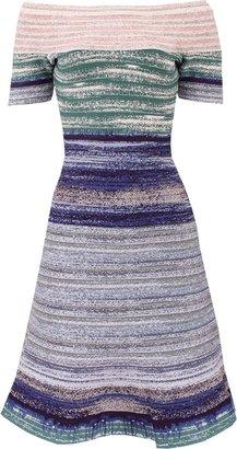 Herve Leger Liza Knit Cocktail Dress