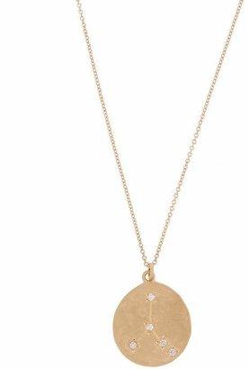 Brooke Gregson Gold Cancer Astrology Diamond Necklace