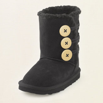 Children's Place Suede toggle boot