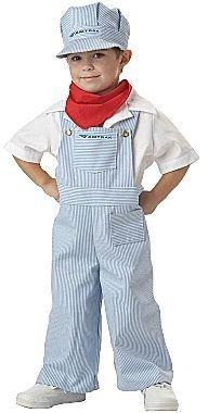 JCPenney Asstd National Brand Amtrak Train Engineer Toddler Costume