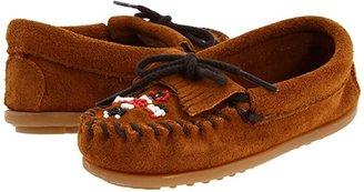 Minnetonka Kids Thunderbird II (Toddler/Little Kid) (Brown Suede) Girls Shoes