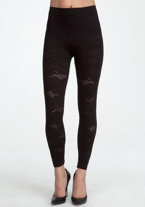 Bebe Textured Lace Leggings - ONLINE EXCLUSIVE