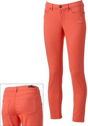 Lauren Conrad color skinny jeans