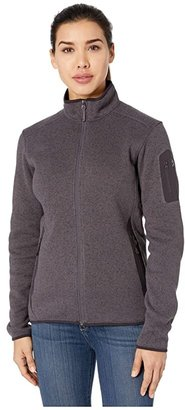 Arc'teryx Covert Cardigan (Arbour Heather) Women's Sweater