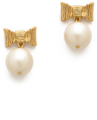 Kate Spade All Wrapped Up Drop Earrings