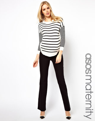 Asos Work Wear Pants With Kick Flare