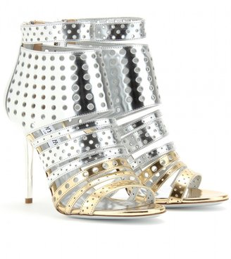 Jimmy Choo MAIRA PERFORATED MULTI-STRAP SANDALS