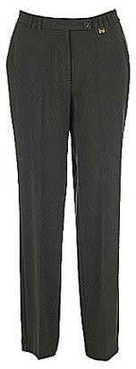 TanJay Petite Straight-Leg Pull-On Pants