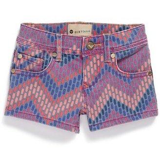 Roxy 'Ferris Wheel' Denim Shorts (Little Girls)