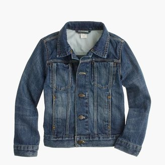 J.Crew Boys' denim jacket