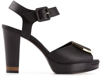 Fendi open toe sandal