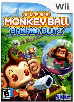 Nintendo wii TM super monkey ball TM: banana blitz
