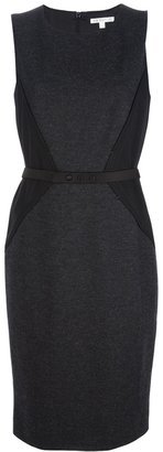 Paule Ka sleeveless belted shift dress