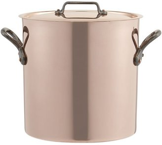 Mauviel M'Heritage Copper 11.7 qt. Stock Pot.