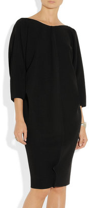 Calvin Klein Collection Raw-edged crepe dress