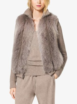 Michael Kors Fox Fur Vest
