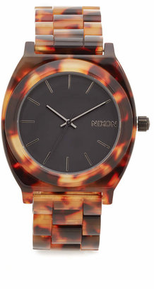 Nixon Time Teller Acetate Watch $125 thestylecure.com